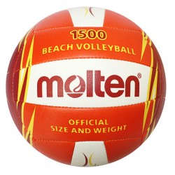 М'яч для пляжного волейболу PU MOLTEN V5B1500-OR-SH