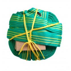 Розмітка майданчика для пляжного волейболу (зелено-жовта)