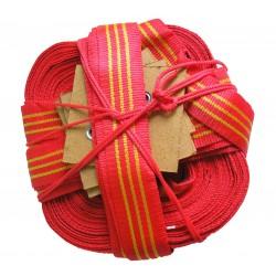 Розмітка майданчика для пляжного волейболу (червоно-жовта)