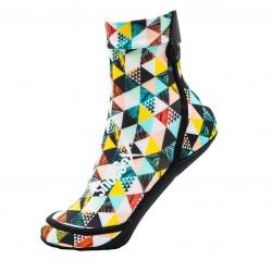 Шкарпетки для пляжного волейболу ShocSox (Geometric Palms)